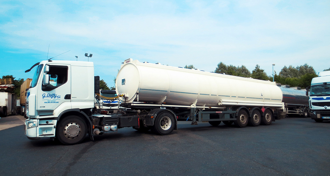 Citernes pétrolières Transports Delfly