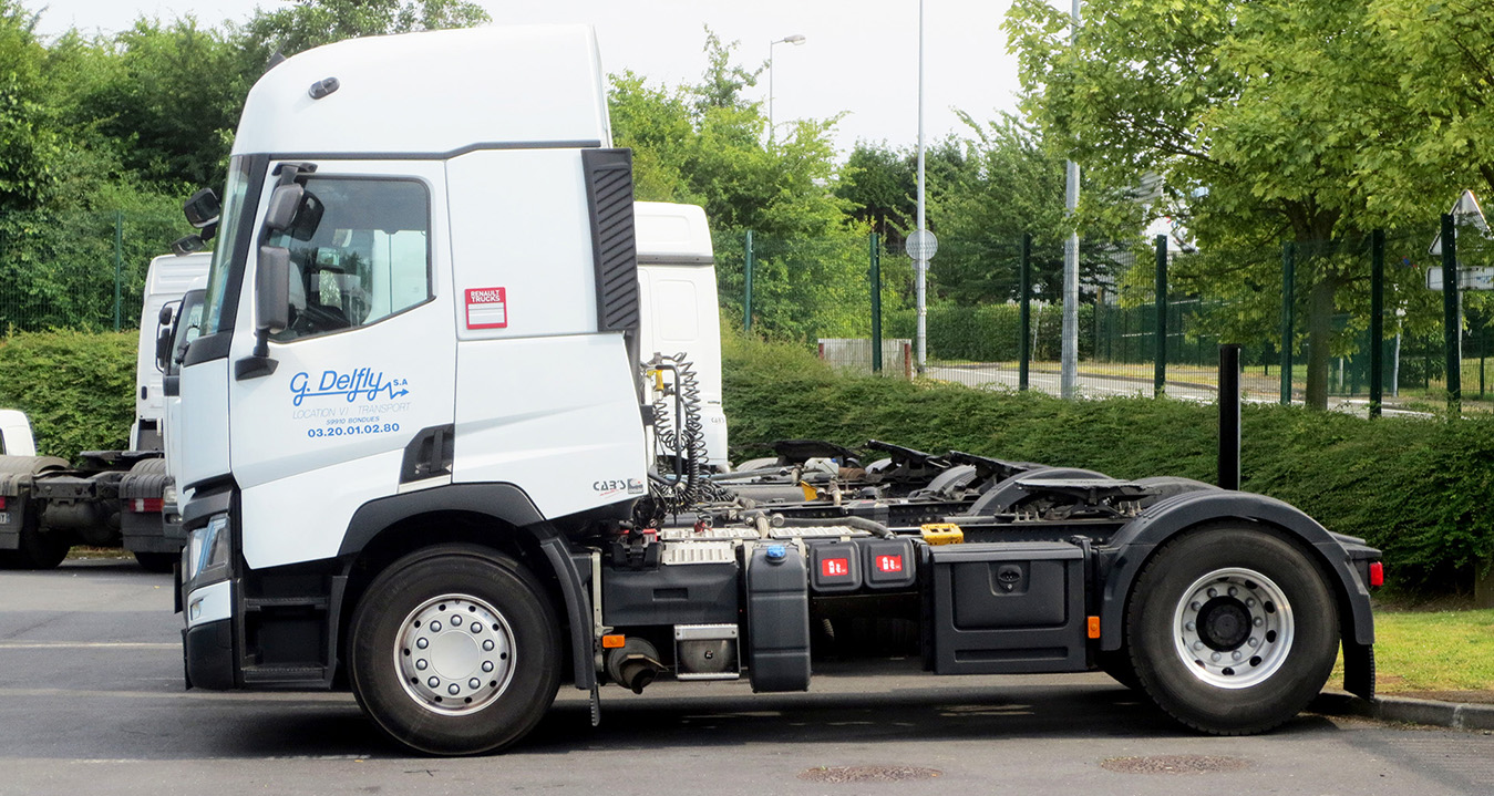 Tracteurs routiers Transports Delfly